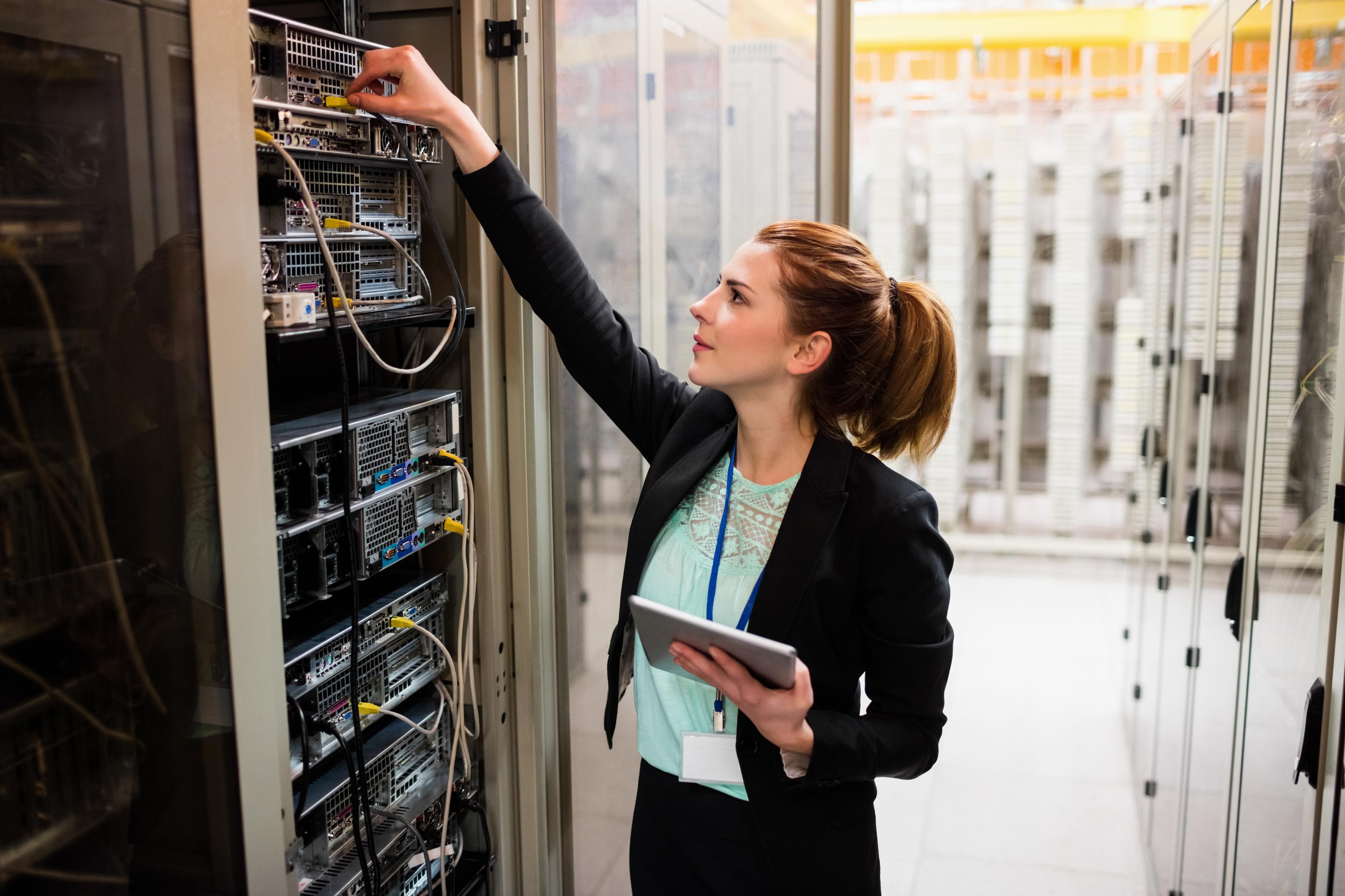 business server technician