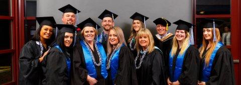 Charter College Students Celebrate Graduation