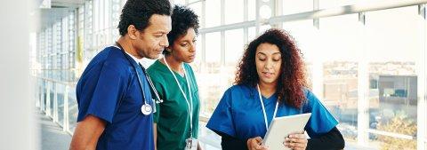 Medical Assistants Talking it over