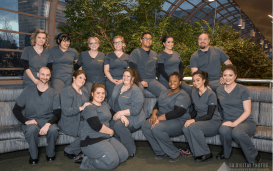 Charter College Nursing Students