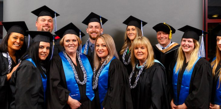 Charter College Students Celebrate Graduation