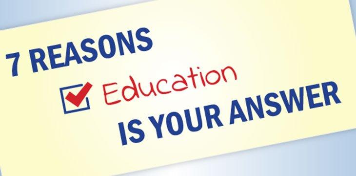 education improves life