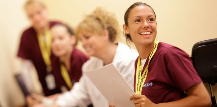 Dental Students and Teacher