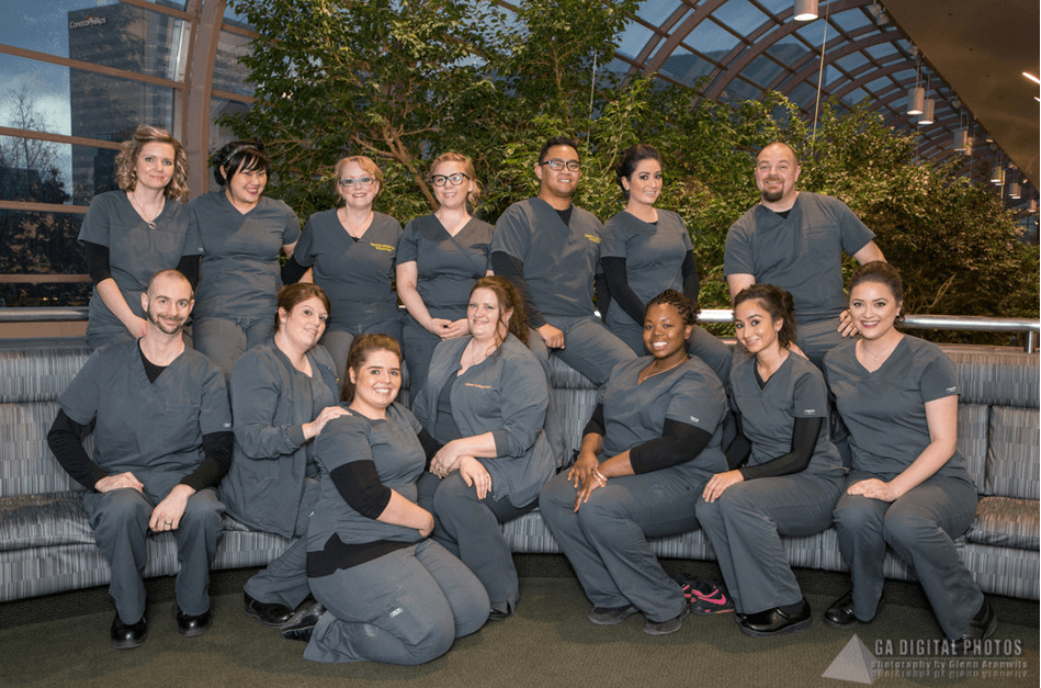 Charter College Nursing Students