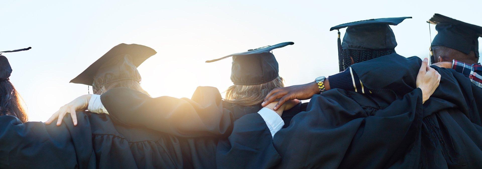 Graduates Posing For Photo
