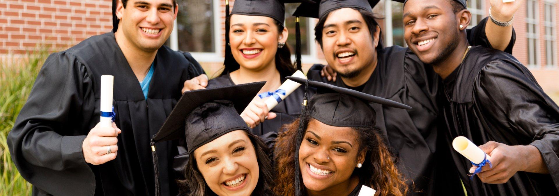 Graduates Preparing for Their Careers
