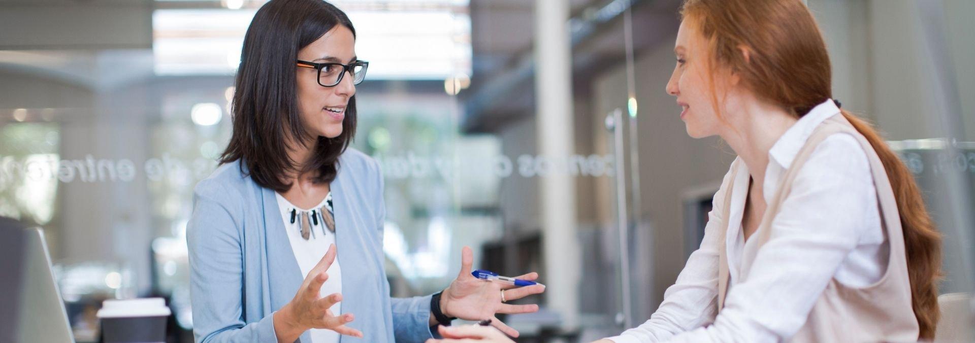 meeting career advisor