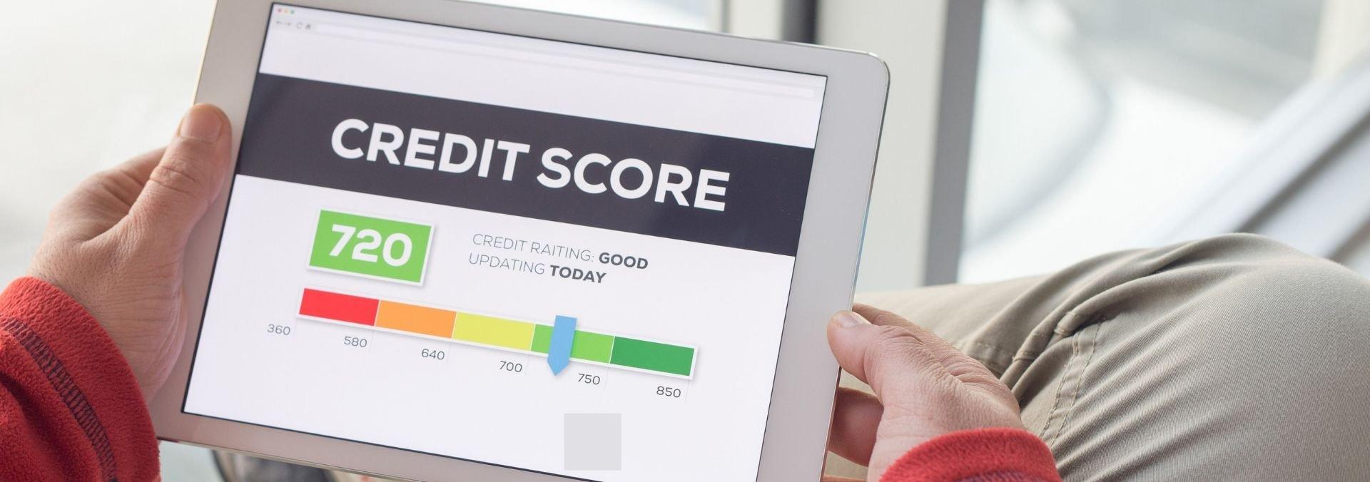view credit score online
