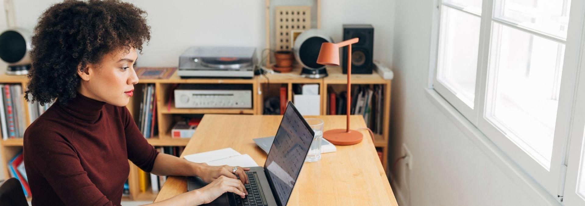 online learner in class