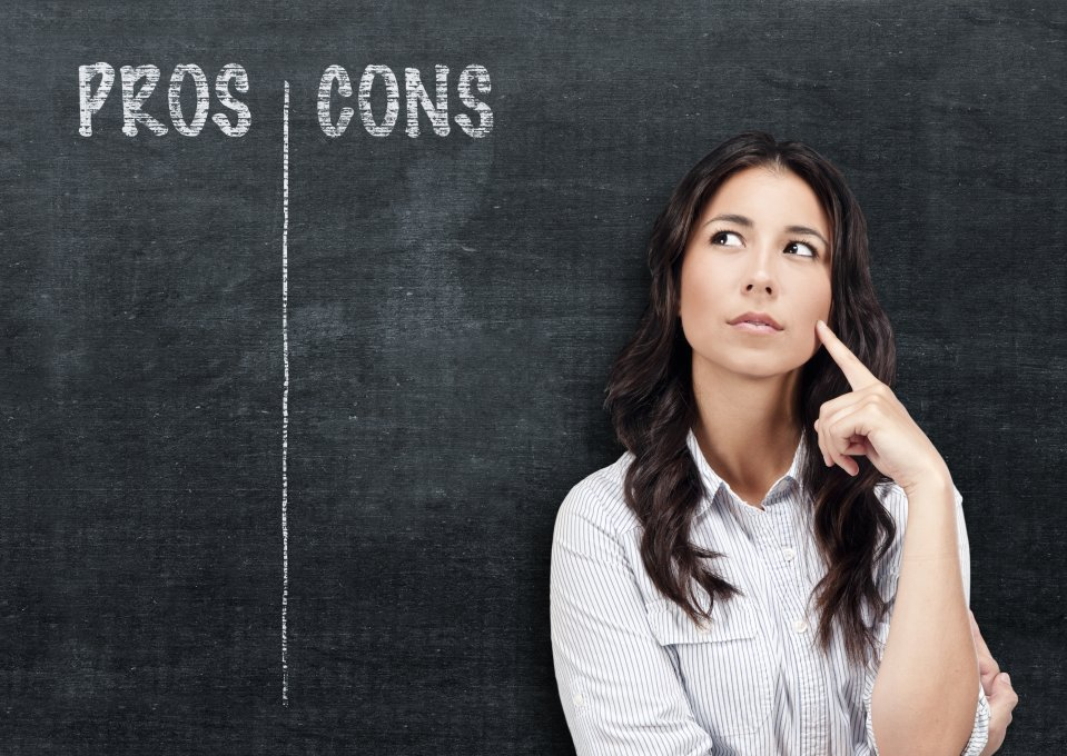 Deciding to take the job:Pros and Cons